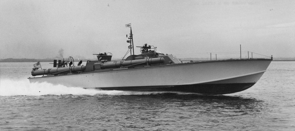 Lost PT Boat