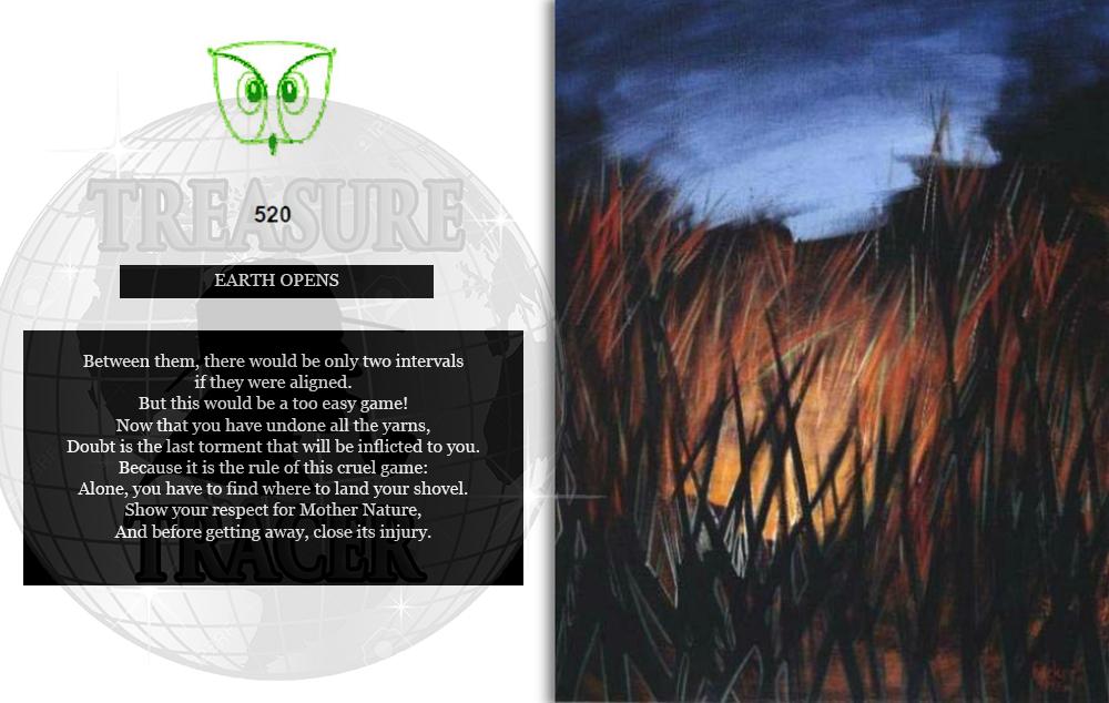 GOLDEN OWL OF FRANCE CLUE 11 TT